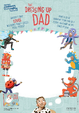 Dressing Up Dad Activity Sheet